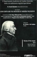Adam Smith and the invention of Modern Philosophy